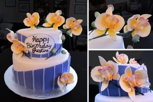 Orchid Cake by Keep-It-Sweet