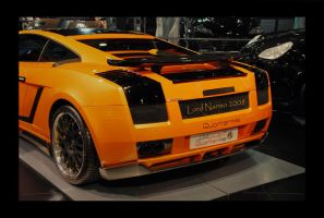Orange Lamborghini by uae4u