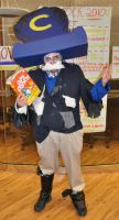 Zombie Cap'n Crunch Costume by venkman3000