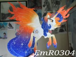 Queen Galaxia Paper Pony by EmR0304