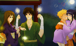 Naruto Comm: Festival! by Solstice-11