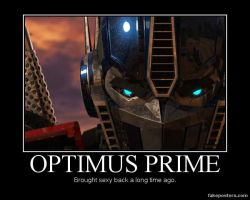 Optimus Prime by FireGoddess1997