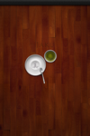 Jaku Screenlock Wall - Wood+Tea Set - iPhone/iPod by iGeriya