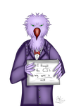 Cog Shaming: Legal Eagle by ChiefLucarioOfficer