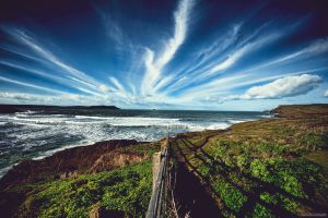Polzeath, Cornwall by lensworksphotography