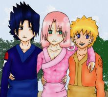 -Team 7- by XSaku-ItaX