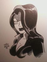 Talia al Ghul by ChrisFaccone