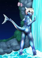 Elouise's Waterfall by CocoFoxStudios
