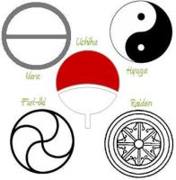 5 noble clan symbols by Sorceress2000