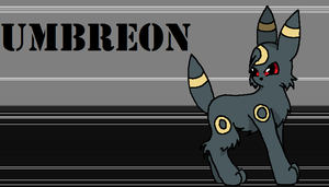 Umbreon by GrovyleFangirl1997