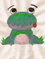Painted Froggy Thing by puggers