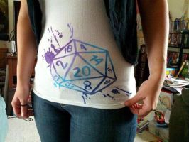 d20 Shirt by Shiovra
