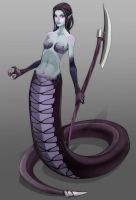 Lamia by titi-artwork