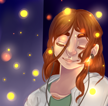 Fireflies by Nutauke
