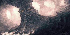Drooling Pillar of Doom by Gurbatchoff