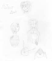 Astner Sketches by AlceX