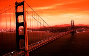 Golden Gate 1280x800 Wallpaper by Madsin