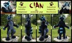 Cian the Puppydorable by LuxuryCat