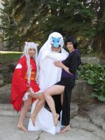 Inuyasha Gender Bending and Shipping by Indy-Sumisu