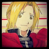 Edward Elric by Karina-o-e
