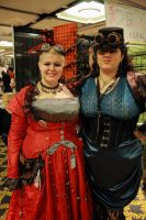 steampunk girls 3 by ghousel