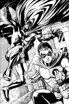 The New Batman and Robin by craigcermak