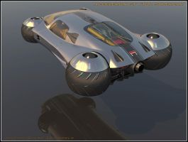 Supercar Concept43flight Mode by Scifiwarships