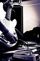 The Bassist by Graphica