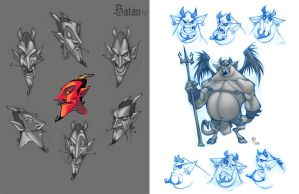 satan model sheet by ZurdoM