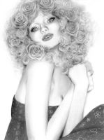 Wild Roses by karinaloveart
