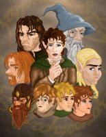 Fellowship Poster by hollano