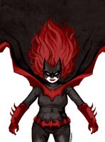 The Batwoman by TasmanianTiger