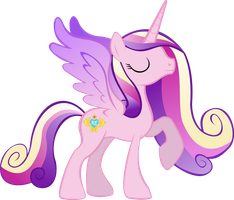 Princess Mi Amore Cadenza (Without Magic) by TheShadowStone