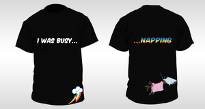 Busy....T-shirt design by aruigus808