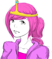 Princess Bubblegum by ZombieInYourGarden