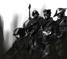 troops by boringcabage
