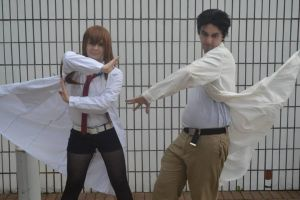 Steins Gate - Rintarou Okabe cosplay by Petchy-mon