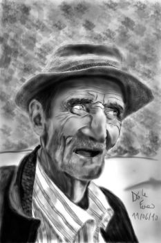 An old Man by darksylph