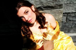Princess Belle Cosplay - Oh, but It's My Favorite! by SparrowsSongCosplay