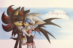 Shadouge:  I Will Always Be With You by RainbowSpine