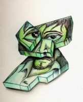 cubeguy by rexcey