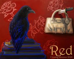 Red Promotional Poster by J-Perkins