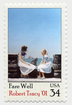 Fare Well Stamp by hankonephoto