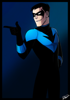 Nightwing by AnArtistCalledRed