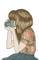 Vintage Girl PNG by MaviDesigns