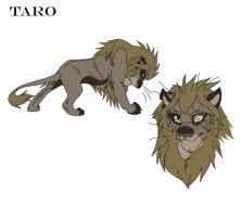 Lion OC Point Adopt 1 GONE by KasaraWolf