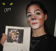 Jemima -CATS- make up test 1 by MiracoliCosplay