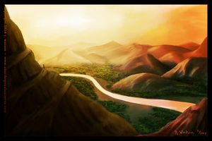 Road to the Wise Man by merrak