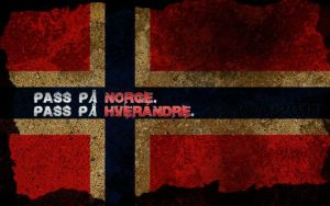 Norge i sorg - Norway in grief by miniturnern