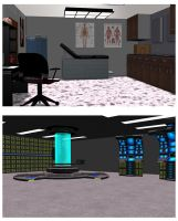 Doctor's office and lab by mdbruffy